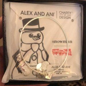 Snowman Alex and Ani
